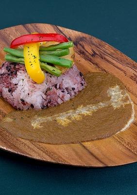 五穀米のカレープレート(06.28).jpg